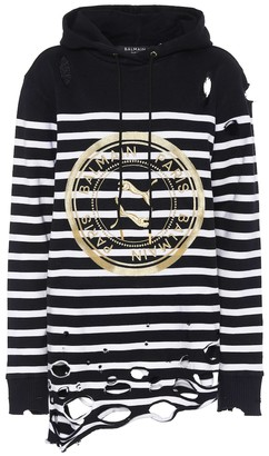 Puma x Balmain cotton hoodie