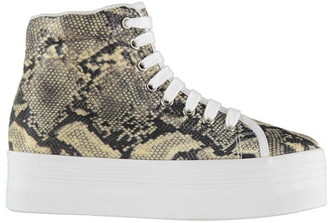 Jeffrey Campbell Play Homg Snake Platform Shoes