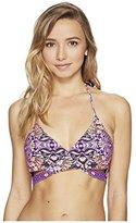 O'Neill Women's Surf Bazaar Wrap Bikini Top