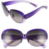Maui Jim Women's Nahiku 59Mm Polarizedplus2 Sunglasses - Chocolate Fade/ Hcl Bronze