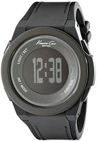 Kenneth Cole New York Unisex 10022805 KC Connect- Technology Digital Display Japanese Quartz Black Watch