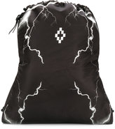 Marcelo Burlon County of Milan Telgo gym bag - men - Cotton/Polyester - One Size