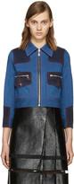 Marc Jacobs - Blouson en denim bleu