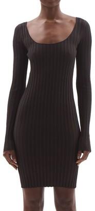 Helmut Lang Rib-Knit Bodycon Dress