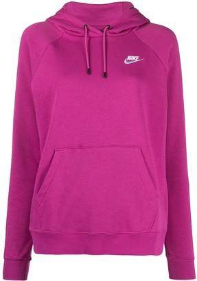 Nike Swoosh Logo Cotton Hoodie