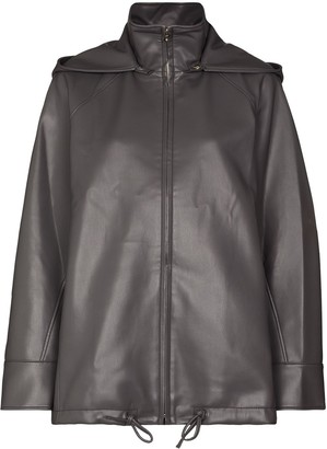 LVIR Hooded Zip-Front Jacket