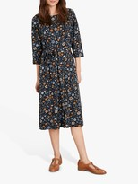 St Martins Seasalt Picking Season Dress, Flowers Dark Night