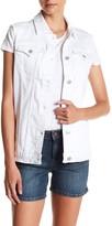 Tractr Jeans Oversized Denim Vest