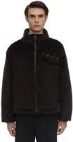 Salvatore Ferragamo Cotton Corduroy Padded Jacket