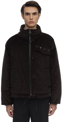 Salvatore Ferragamo Cotton Corduroy Padded Jacket