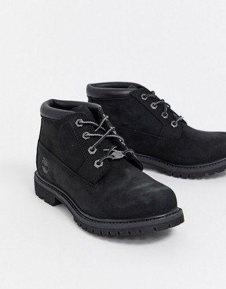 Timberland Nellie Chukka Black leather ankle boots