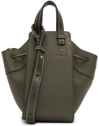 Loewe Green Mini Hammock Drawstring Bag