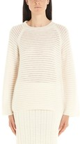 Theory Jacquard Striped Crewneck Sweatshirt