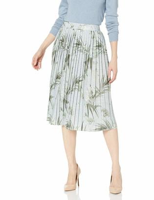 Ted Baker Women's Esti Highland Jersey Pleated Skirt