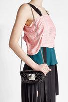 Sonia Rykiel Quilted Velvet Shoulder Bag