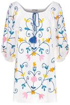 Juliet Dunn Embroidered Tunic Dress