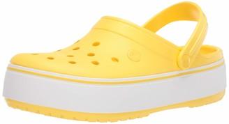 Crocs Women's Crocband Platform Clog Comfortable Fashion Shoe