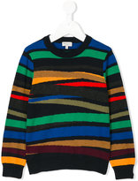 Paul Smith striped sweater - kids - Cotton/Cashmere - 2 yrs
