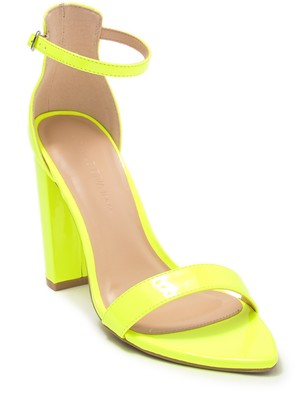 Wild Diva Lounge Camryn Pointed Toe Ankle Strap Pump