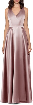 Xscape Evenings Satin A-Line Gown