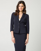 Le Château Stretch Twill Notch Collar Blazer