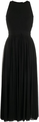 Alexander McQueen Pleated Maxi Dress
