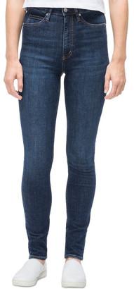 Calvin Klein Jeans Hr Skinny Ams Blue Dark Jns Ckjw Ckj 010