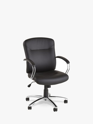 John Lewis & Partners Warner Faux Leather Office Chair