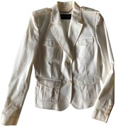 Barbara Bui White Cotton Jacket for Women