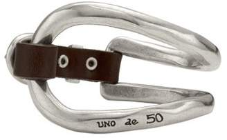 Uno de 50 Women Silver Plated Bangle - PUL0228MAR X