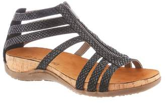 BearPaw Layla Caged Zipper Sandal