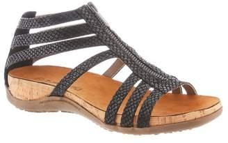 BearPaw Layla Zipper Footbed Sandal