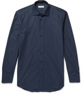 Etro - Slim-fit Cotton-jacquard Shirt