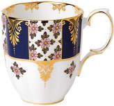 Royal Albert 100 Years Mug - 1900 Regency Blue