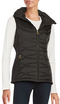 MICHAEL Michael Kors Hooded Vest Jacket
