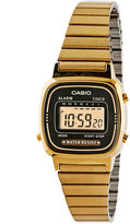 Casio LA670WGA-1DF Gold & Black Ladies Digital Watch