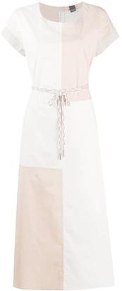 Lorena Antoniazzi Colour Block Midi Dress