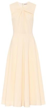 Emilia Wickstead Meryl midi stretch-crApe dress