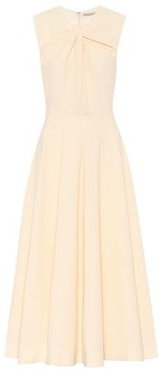 Emilia Wickstead Meryl midi stretch-crepe dress