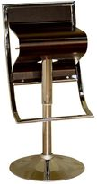 Baxton Studio Kori Adjustable Swivel Bar Stool