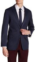 Tommy Hilfiger Gene Blue Two Button Notch Lapel Suit Separates Jacket
