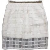 BRIGITTE Bardot White Skirt for Women