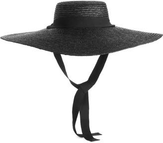 Arket Wide-Brimmed Straw Hat