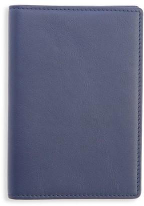Royce New York RFID-Blocking Leather Passport Case