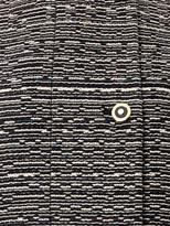 Balenciaga Cristobal layered tweed coat