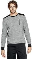 GUESS Men's Madock Quilted Sweatshirt