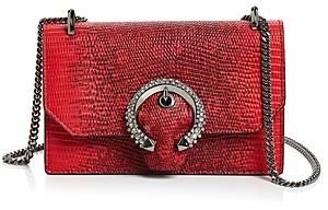Jimmy Choo Paris Crystal Embellished Lizard Print Mini Bag