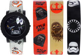 Star Wars Boys Black Strap Watch-Swm3225jc