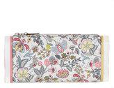 Edie Parker Lara Soft Floral Clutch Bag, Pink