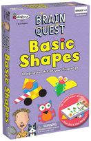 University Games Brain Quest Basic Shapes Game by